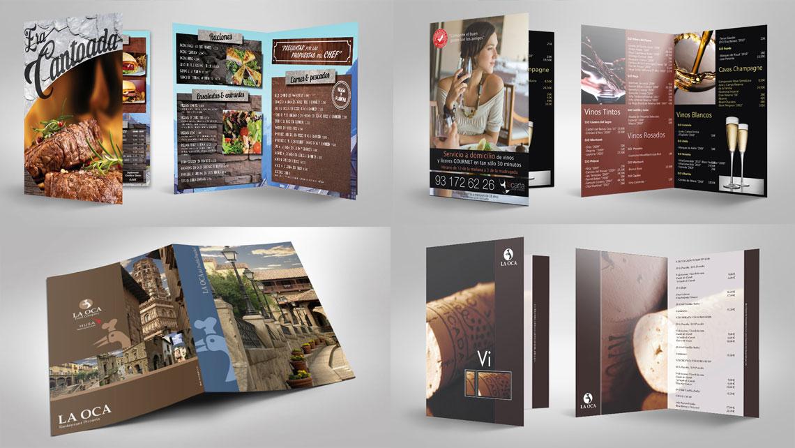 dise u00f1o folletos de restaurantes  cartas de restaurantes
